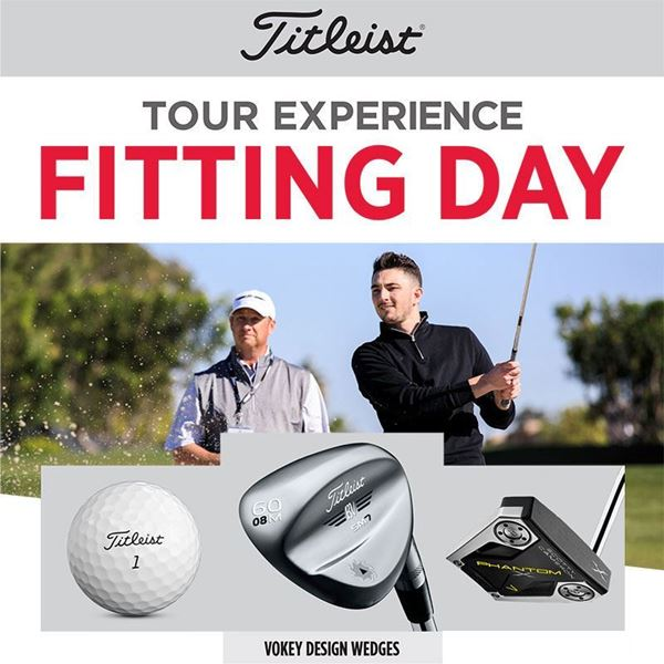 Titleist Custom Fitting Day - Wedges