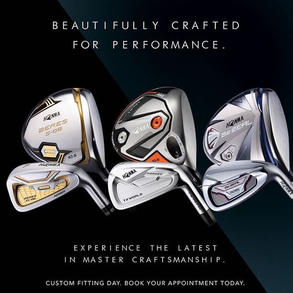 Honma Custom Fitting Event