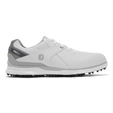 Footjoy Pro SL 2020 Golf Shoes - White/Grey - 53804, Golf Shoes Mens