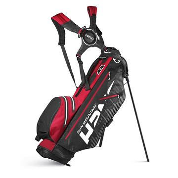 Sun Mountain H2NO Lite Stand Bag - Black/Red, Golf Bags
