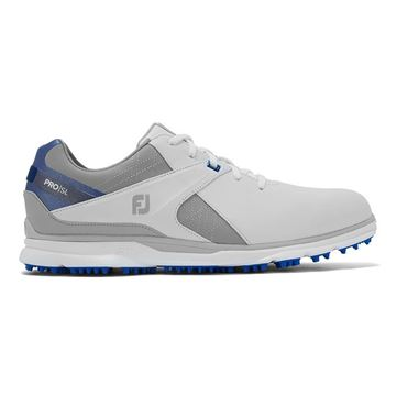 Footjoy Pro SL 2020 Golf Shoes - White/Blue - 53811, Golf Shoes