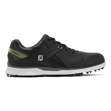 Footjoy Pro SL 2020 Golf Shoes - Black/Lime - 53813, Golf Shoes