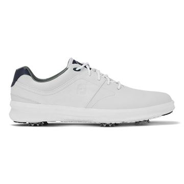 Footjoy Contour Spike Golf Shoes - White - 54113, Golf Shoes