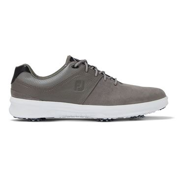 Footjoy Contour Spike Golf Shoes - Grey - 54129, Golf Shoes Mens
