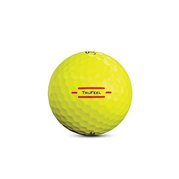 Titleist TruFeel Yellow Golf Balls, Golf Balls