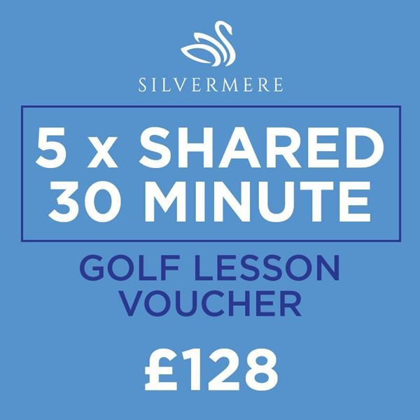 5 x 30 Minute Shared Golf Lessons Voucher, golf lessons surrey