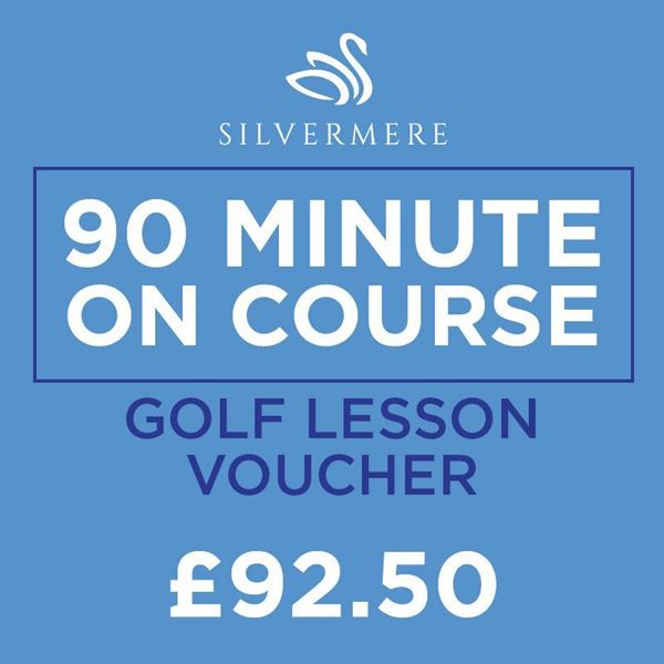 90 Minute Playing Lesson Voucher, Golf Lessons Silvermere Golf Course, Surrey