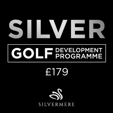 Silver Golf Development Programme Voucher, Golf Lessons Silvermere Golf Course, Surrey