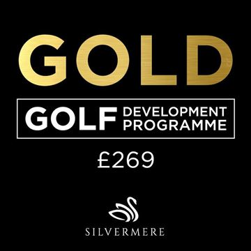 Gold Golf Development Programme Voucher, Golf Lessons Silvermere Golf Course, Surrey