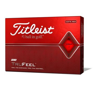 Titleist TruFeel Red Golf Balls