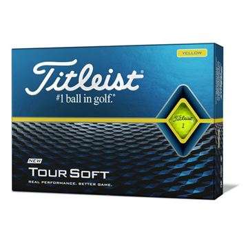 Titleist Tour Soft Golf ball Yellow