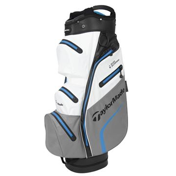 Taylormade Deluxe Waterproof Cart Bag - White/Grey