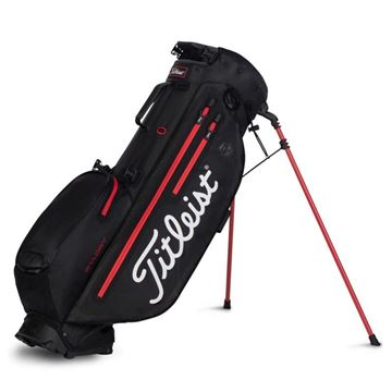 Titleist Players 4 Plus StaDry Carry Bag - Black/Red