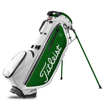 Titleist Players 4 Plus Carry Bag - White/Green