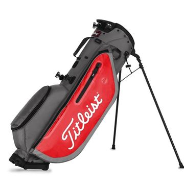 Titleist Players 4 Golf Bags - Graphite/Red, Golf Bags