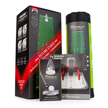 PuttOut Golf Studio Bundle, Golf training aids
