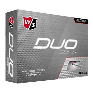Wilson DUO Soft + Golf Balls
