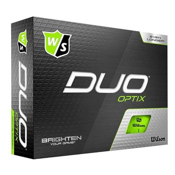 Wilson DUO Optix Green Golf Balls