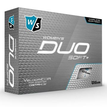 Wilson DUO Soft + Ladies Golf Balls