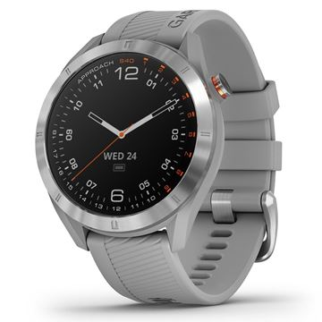 Garmin Approach S40 Watch Grey, Golf Watches