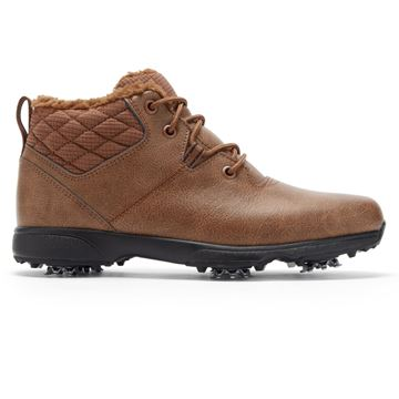 FootJoy Ladies Winter Boot Brown- 98825, Ladies Golf Shoes