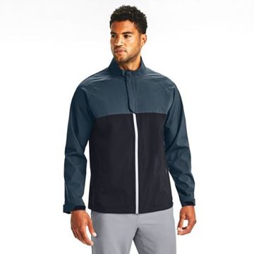 Under Armour Storm Rain Jacket - Black 1342717, Golf Clothing waterproofs