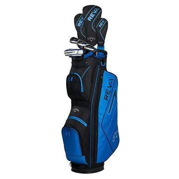 Callaway REVA Ladies 8 Piece Package set BLUE, Ladies golf sets