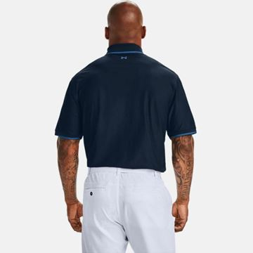 Under Armour Playoff Pique Polo - Academy, Golf Clothing Polos