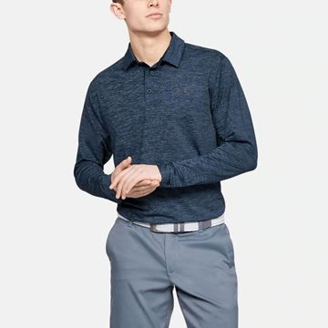 Under Armour Playoff 2.0 LS Polo - Academy, Golf Clothing Polos