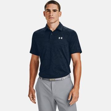 Under Armour Vanish NCG Polo - Academy, Golf Clothing Polos