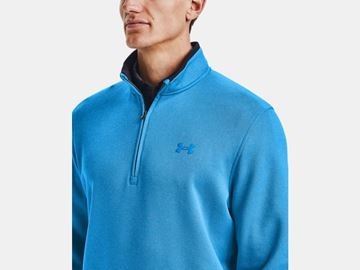 Under Armour Storm Sweaterfleece 1/2 Zip - Electric Blue, Golf Clothing Sweater