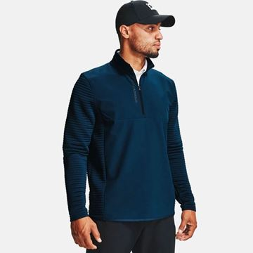 Under Armour EVO Daytona 1/2 Zip - Academy, Golf Clothing Sweater