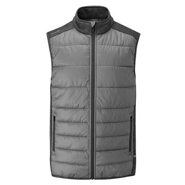Ping Dover Vest - Steel, Golf Clothing Jackets