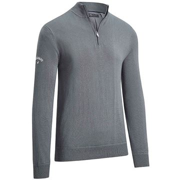 Callaway Windstopper 1/4 Zip Sweater - Shade, Golf Clothing Sweaters