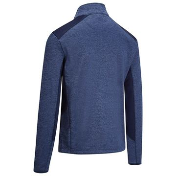 Callaway Heathered Fleece - Peacoat, Golf Clothing Sweater