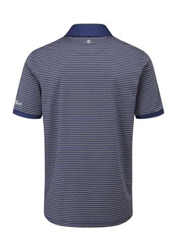 Oscar Jacobson Chester Polo Grey/Navy, Men's apparel