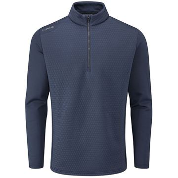 Ping Mellor 1/4 Zip Sweater - Blue, Golf Clothing Sweater