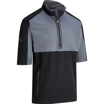Callaway Windtopper 1/2 Zip - Caviar, Golf Clothing Sweater