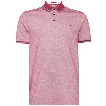 Ted Baker Handie Polo - Pink, Golf Clothing Polos