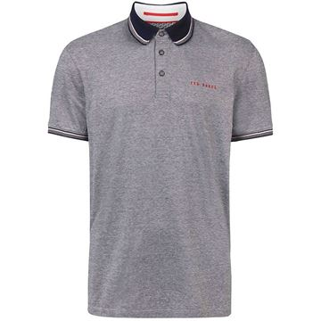 Ted Baker Handie Polo - Navy, Golf Clothing Polos