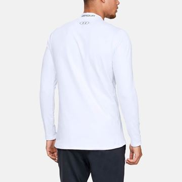 Under CG Armour MK Fit - White/Steel, Golf Clothing polos
