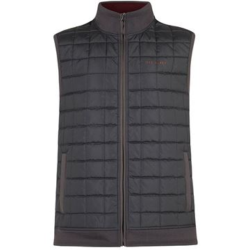 Ted Baker Scratch Gilet - Grey, Golf Clothing Jackets
