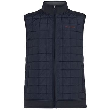Ted Baker Scratch Gilet - Navy, Golf Clothing Jackets