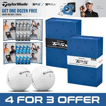 TaylorMade TP5 4 for 3 Gift Box, Golf Balls