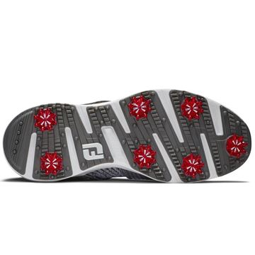 Footjoy Hyperflex BOA Golf Shoes - Gray/Red - 51083, Golf Shoes Mens
