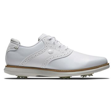 Footjoy Ladies Traditions Golf Shoes - White - 97906, Golf Shoes Ladies