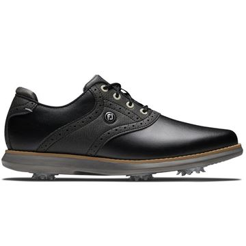 Footjoy Ladies Traditions Golf Shoes - Black - 97908, Golf Shoes Ladies
