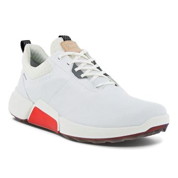Picture of Ecco Mens M Biom H4 Golf Shoes - 108204 - 01007 - White