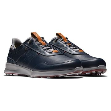 Footjoy Stratos Navy 50043, Men's Golf Shoes