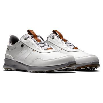 Footjoy Stratos White 50012, Men's Golf Shoes